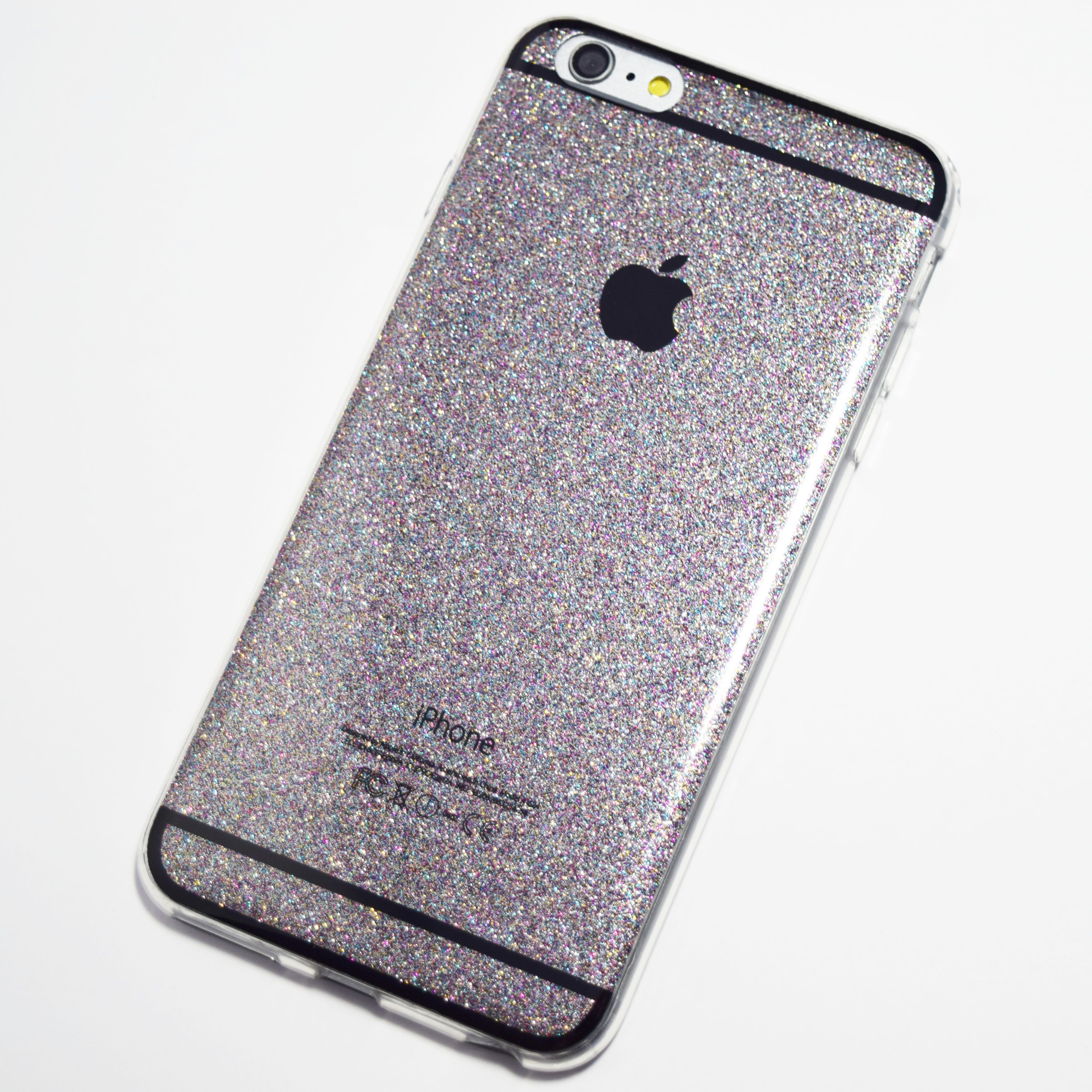 space grey glitter bling iphone 6 plus 6s plus soft case iphone 6 plus 6s plus cases. Black Bedroom Furniture Sets. Home Design Ideas