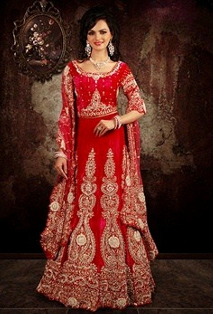 Indian wedding dress 2 piece red for Indian wedding dresses for groom
