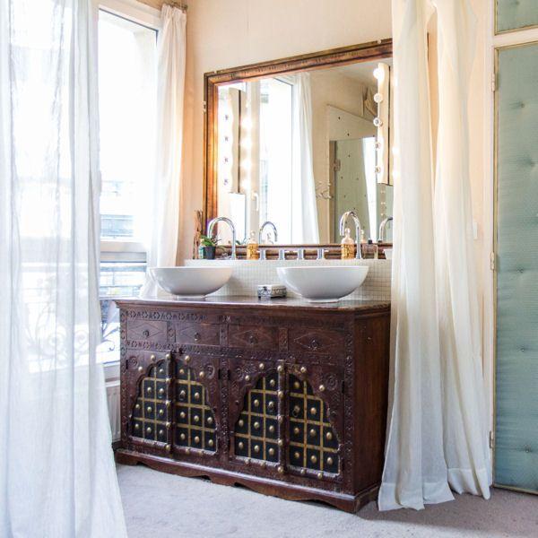 20 meubles vasque r cup 39 pour la salle de bains meuble vasque planches - Mobilier de salle de bain en bois ...