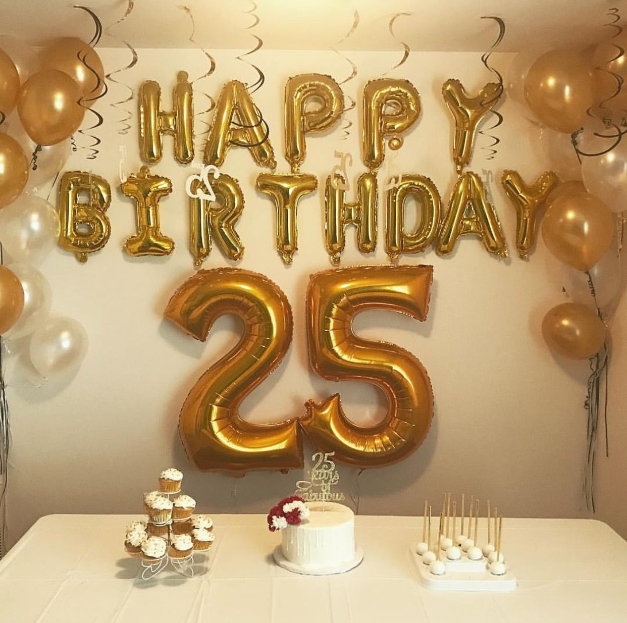 Newest Absolutely Free 25th Birthday Decorations Tips 25th