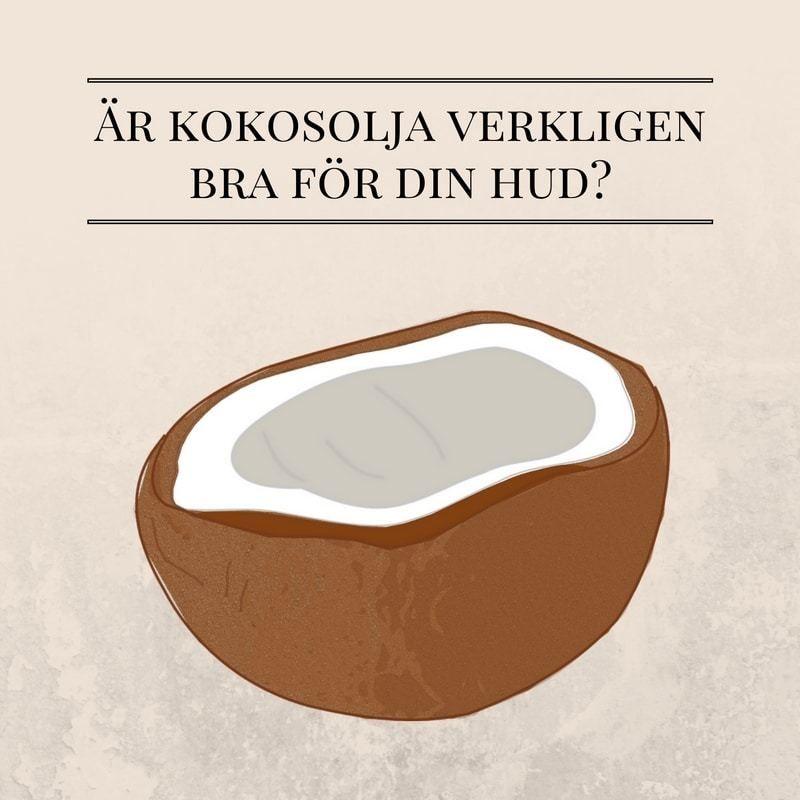 kokosolja bra för