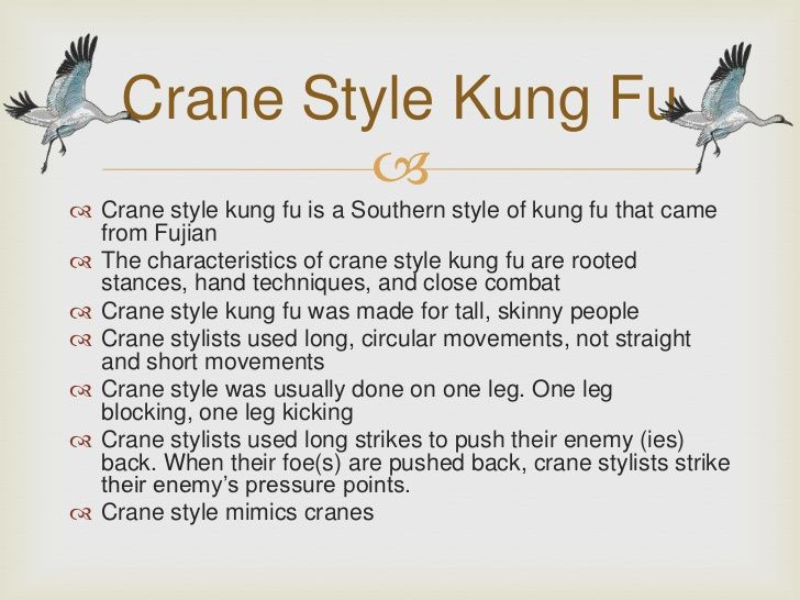 crane style kung fu crane style kung fu is a southern