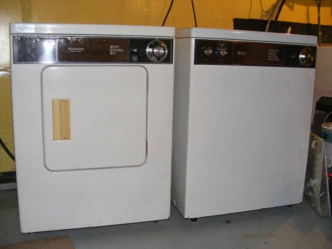My first washer and dryer where like this set. The washer was on ...