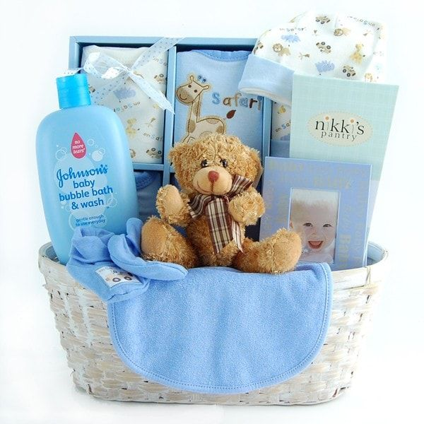 75b01cd3c8dcf Shop New Arrival Baby Boy Gift Basket - Free Shipping Today ...
