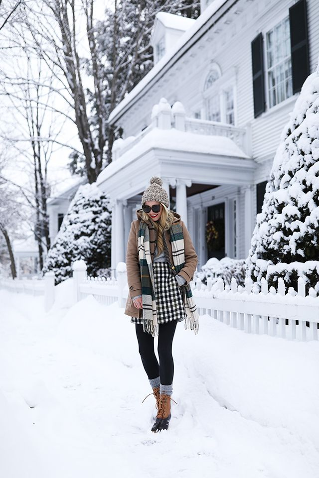Winter layers.