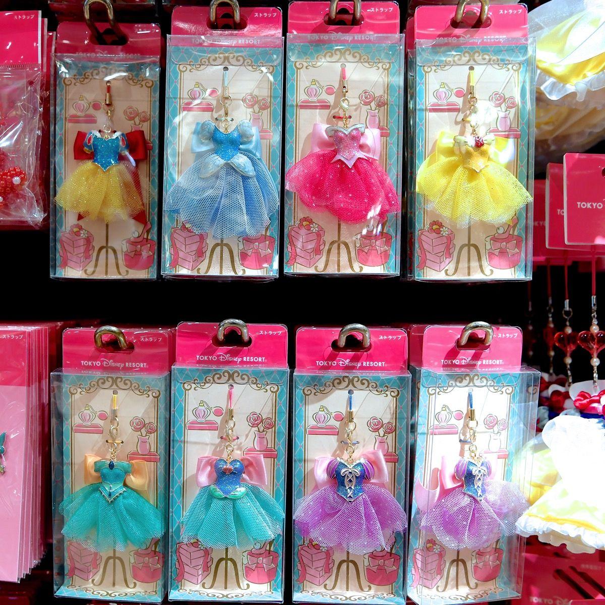 プリンセス ドレス ストラップ グッズ お土産 東京ディズニーランド 東京