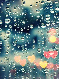 Download Free Rain Drops Mobile Mobile Phone Wallpaper 2297 I