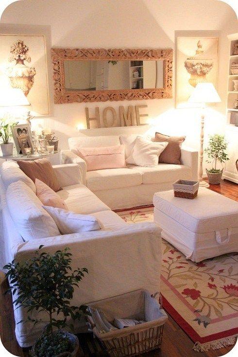 Inspiring small living room decorating ideas for apartments (98 - decoracion de apartamentos pequeos