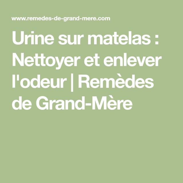Urine sur matelas nettoyer et enlever l 39 odeur nettoyant - Nettoyer urine sur matelas ...