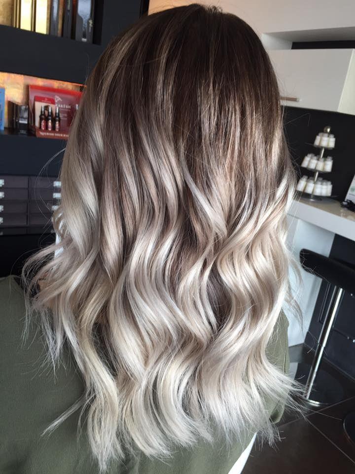 Balayage Silver Hair Waves Olaplex K 252 Hl Blond