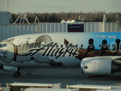 Alaska Airlines bids for Adak federal air service contract