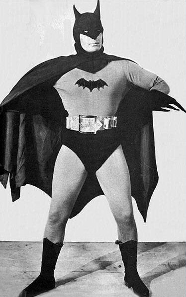 "1943....""first Batman on screen"""