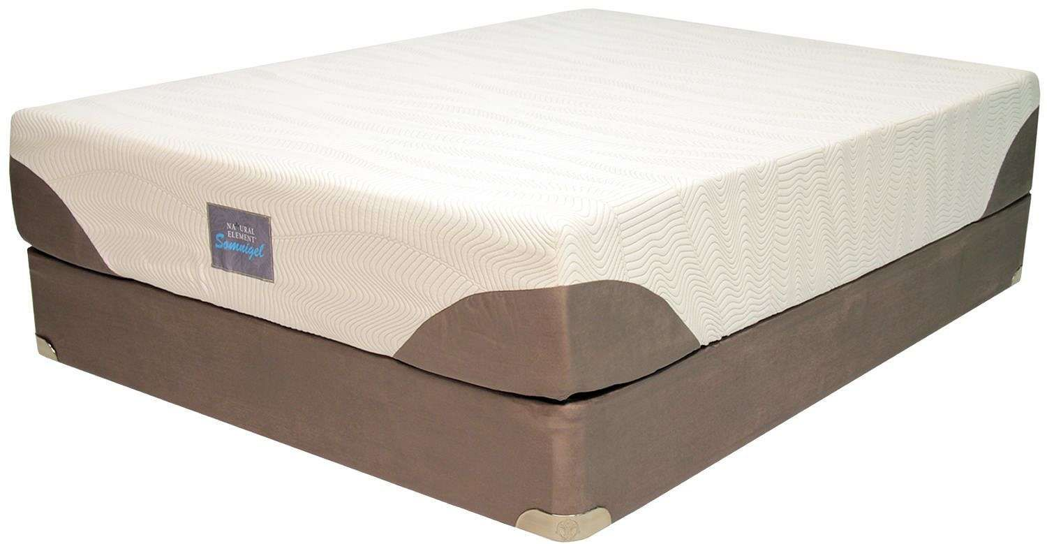 our somnigel mattress foundation set features the somnigel