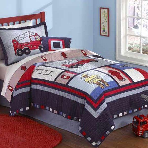 Best 25 Fire Truck Beds Ideas On Pinterest: Boys Bedding & Room Decor