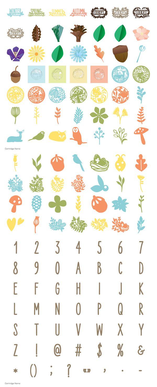 Four Seasons Home Decor Cricut Cartridge Memory Miser