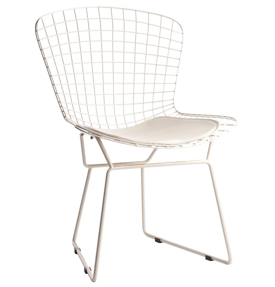 Replica Harry Bertoia Side Chair Powder Coated Frame By Harry Bertoia Matt Blatt Side Chairs Bertoia Bertoia Side Chair