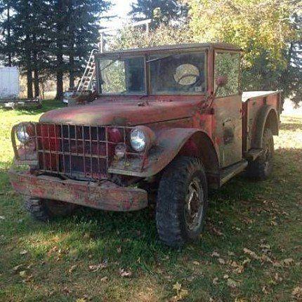 1954 Dodge M37 For Sale 100824236 Autotrader Dodge Jeep Truck