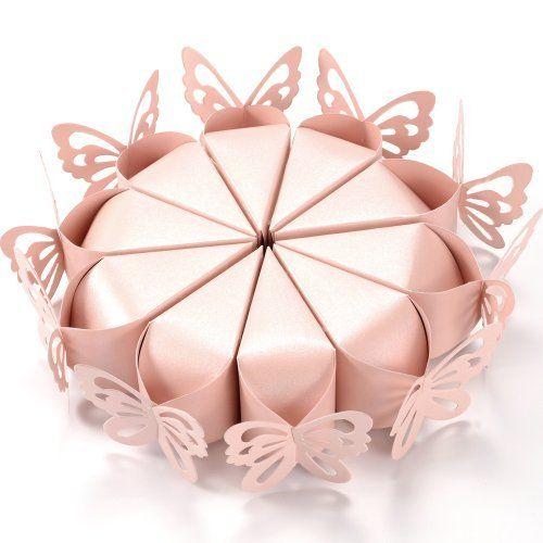 Boîte dragées Papillon