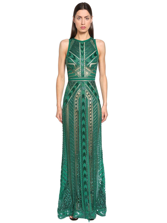 Elie Saab Embellished Tulle Dress Eliesaab Cloth
