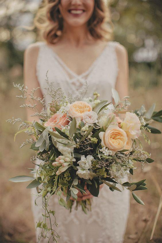Bukiet Slubny Boho Auckland Wedding Rustic Bridal Bouquets Boho Wedding