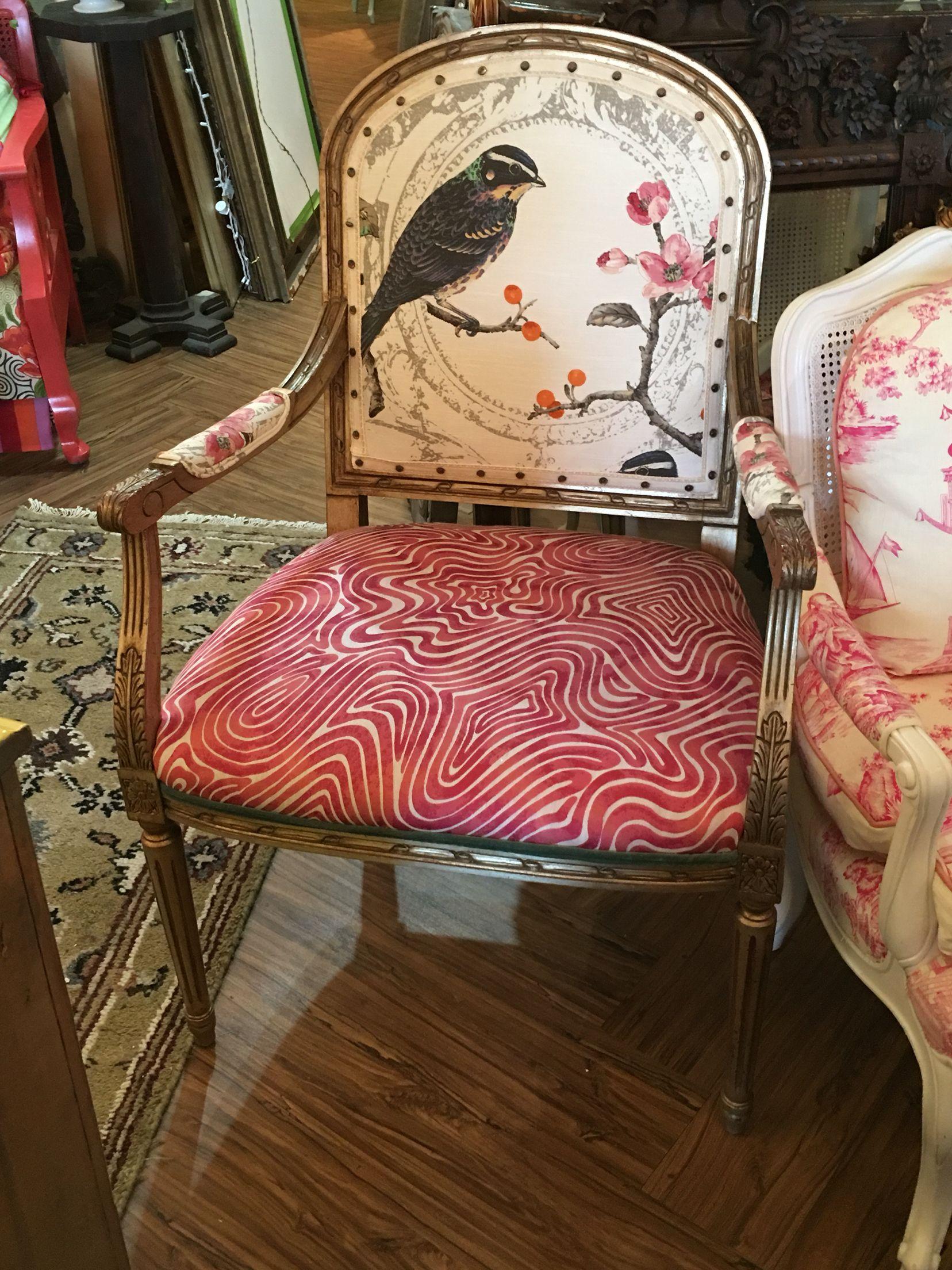 Bird chair upholstery medford home furnishings chair