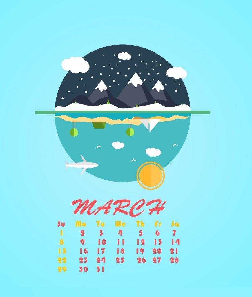Iphone March 2020 Background Wallpaper Calendar Wallpaper