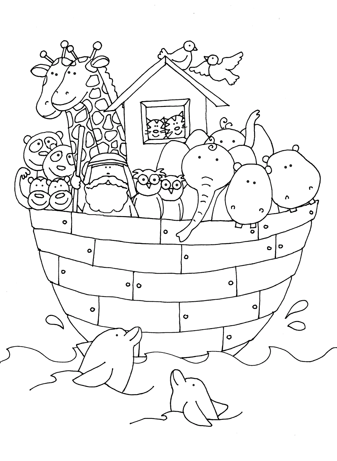 Free Dearie Dolls Digi Stamps: As requested....Noah\'s Ark | Dearie ...
