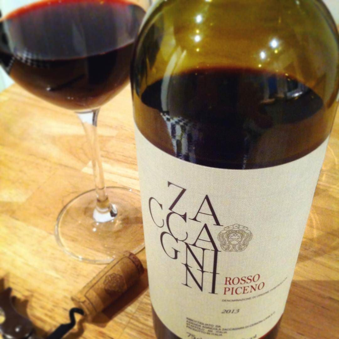 """Some wines are more affordable but that doesn't always mean they are less delicious. Ask @stapirius!! And follow @vininorden """"Rosso piceno"""" by @zaccagnini.it  #wine #redwine #rosso #rossopiceno #piceno #rødvin #godvin #hygge #cozy #zaccagnini #winery #goodwine #ilovewine #fb #pin #tw #julehygge #redwinetime #redredwine #italianwine #lovewine #wineoftheday #finewine #winenot #winegeek #marche #ascoli #wineoclock"""