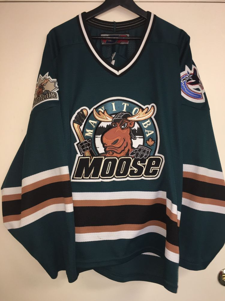 Manitoba Moose AHL Hockey Jersey Size XL  b2ef5cd63