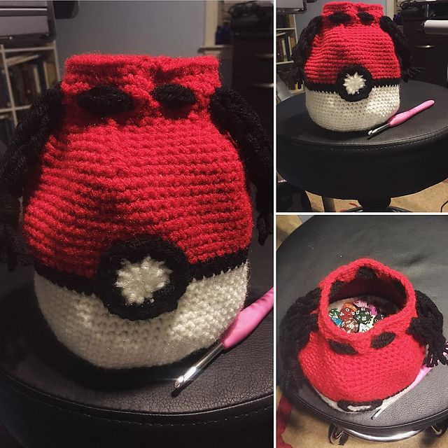 This dice bag can hold approx. 2lbs of dice. | Crochet | Pinterest