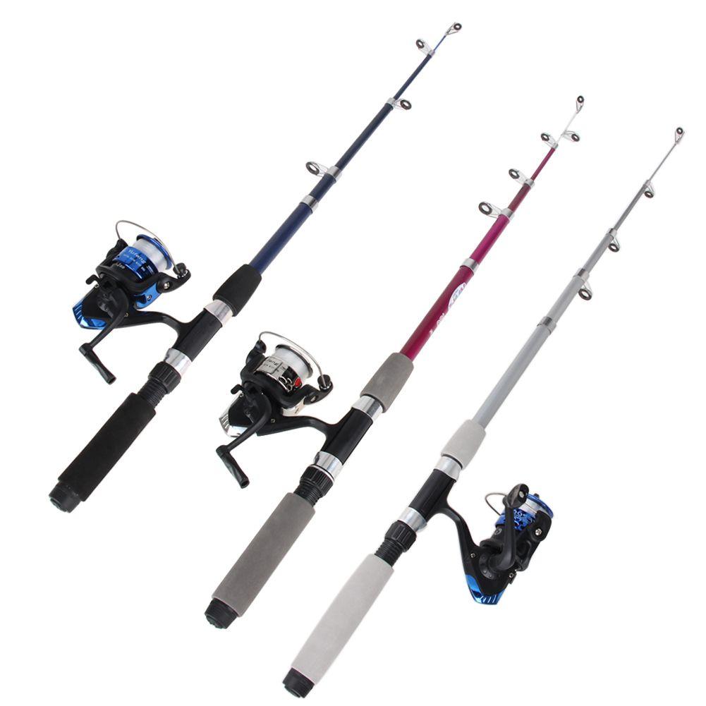 Outdoor Fishing Tool Set Compelet Starter Junior Beginner Fish Rod ...