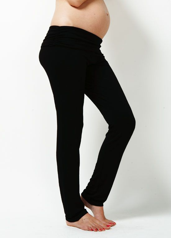 fd4feedc82a4b Trimester™ - Jacoba Straight Leg Yoga Pants | : Essential Maternity ...