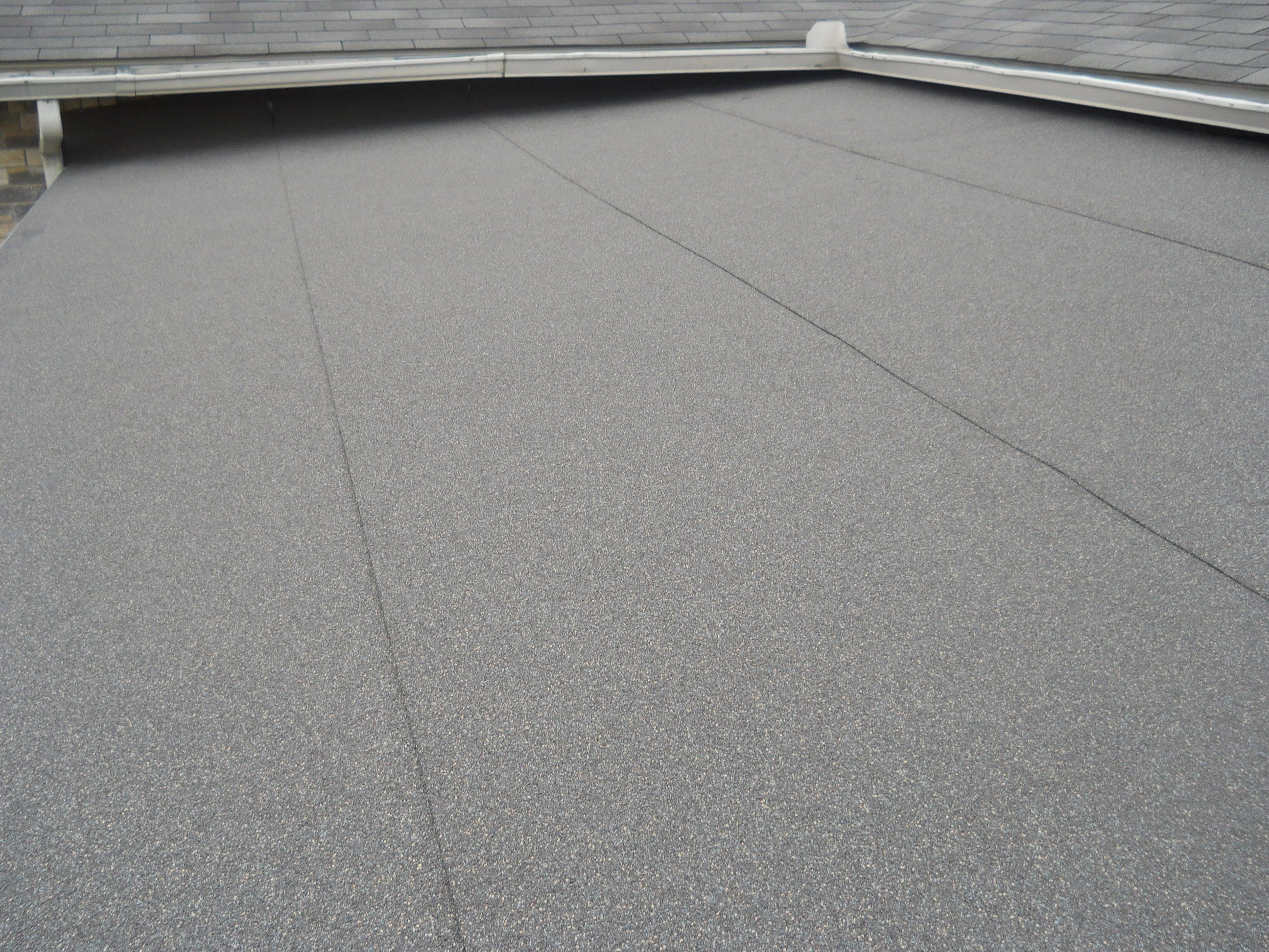 Best Gaf Liberty Roof System Color Weathered Wood Installed 400 x 300