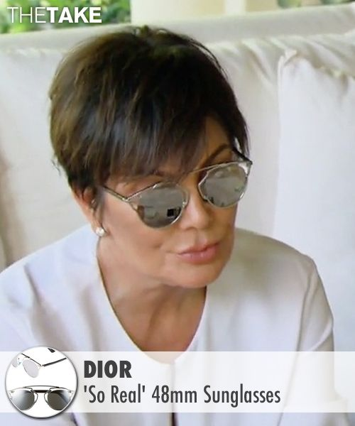 4a749431c9 Dior  So Real  Sunglasses as seen on Kris Jenner in Keeping Up With The  Kardashians