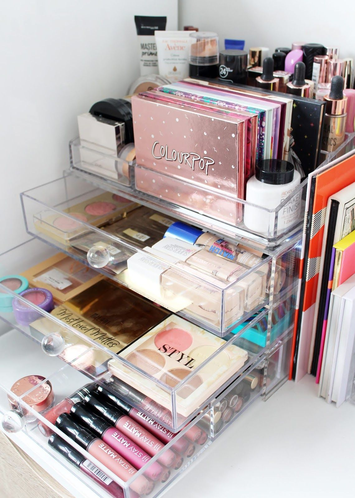 MARIE KONDO YOUR MAKEUP | Makeup storage drawers, Good makeup ...