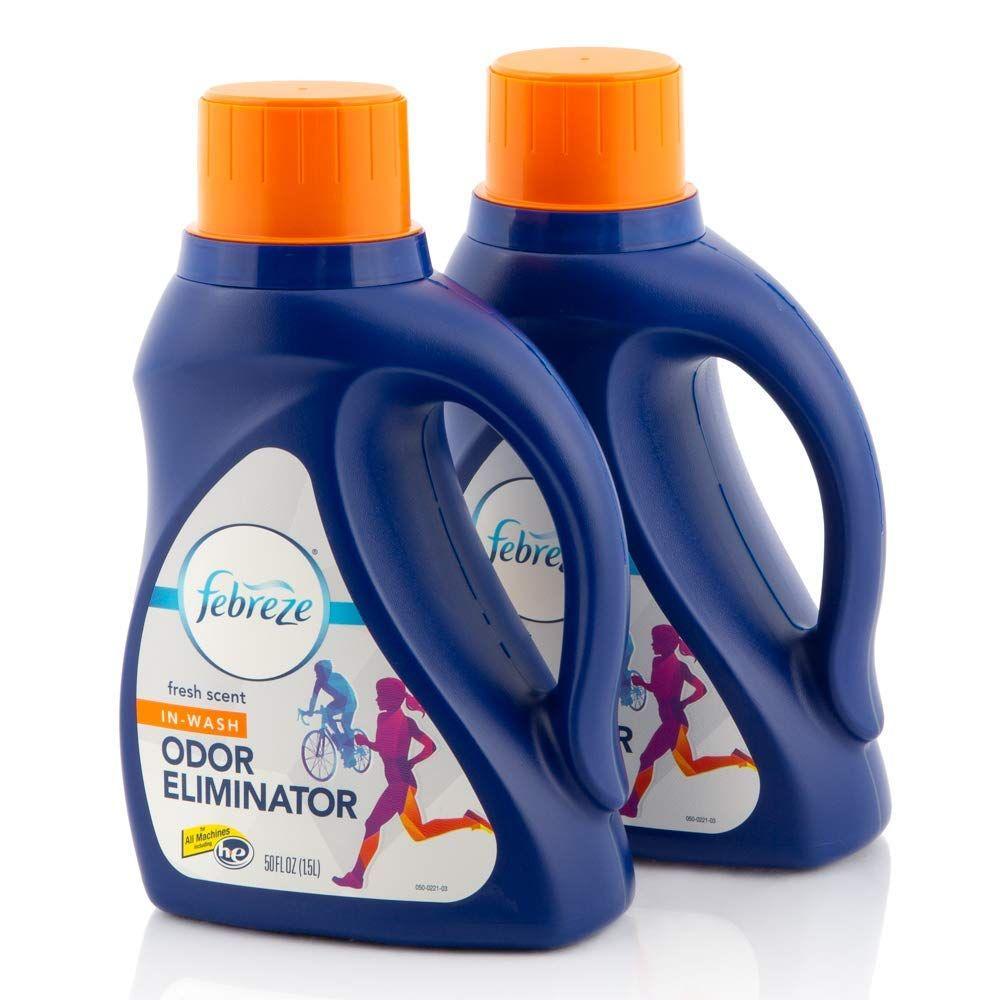 Febreze In Wash Laundry Fabric Odor Eliminator Detergent Refresher