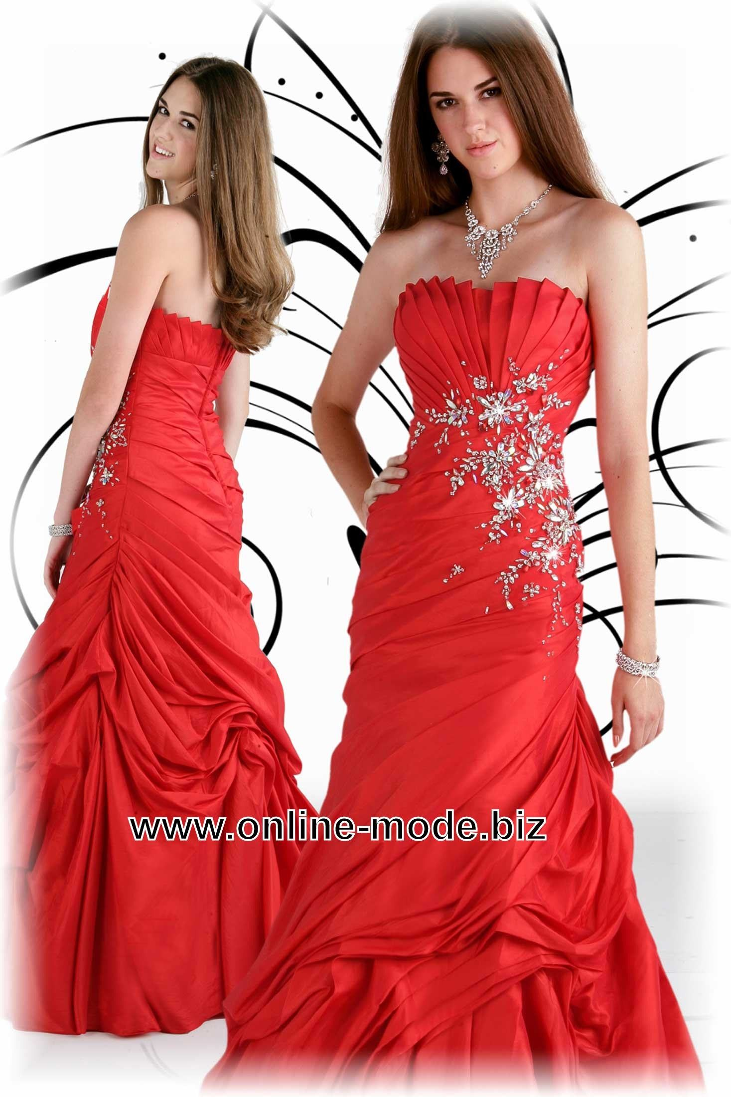Event Mode Abend Kleid in Rot | Rote Kleider online kaufen ...