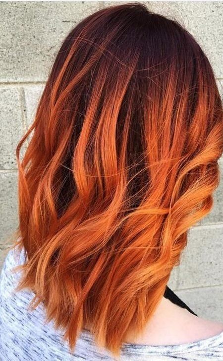 Burnt Orange Hair | hair in 2019 | Ginger hair color ...