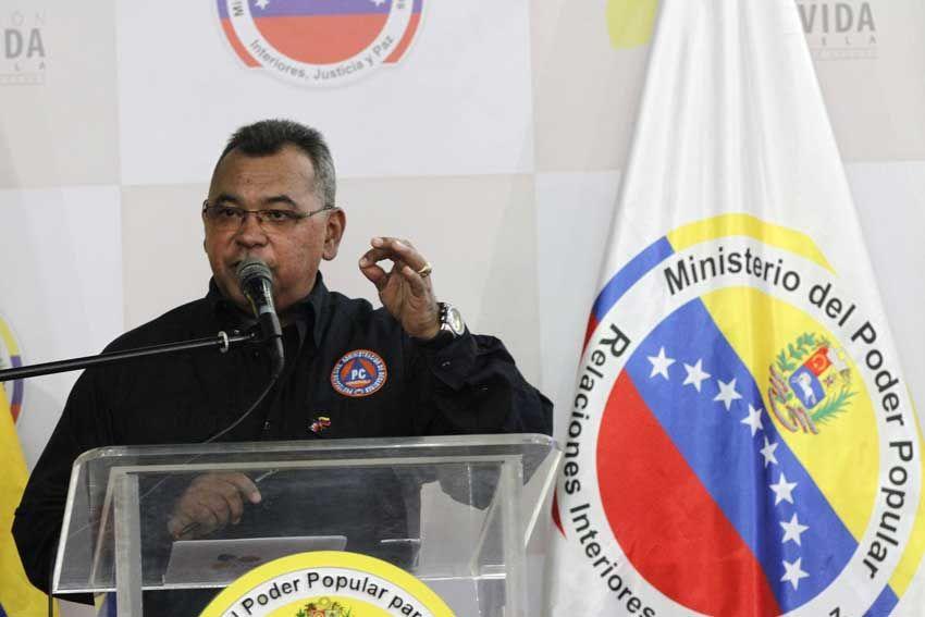 Ministro Reverol anunció nueva fase de la OLP - El Carabobeño