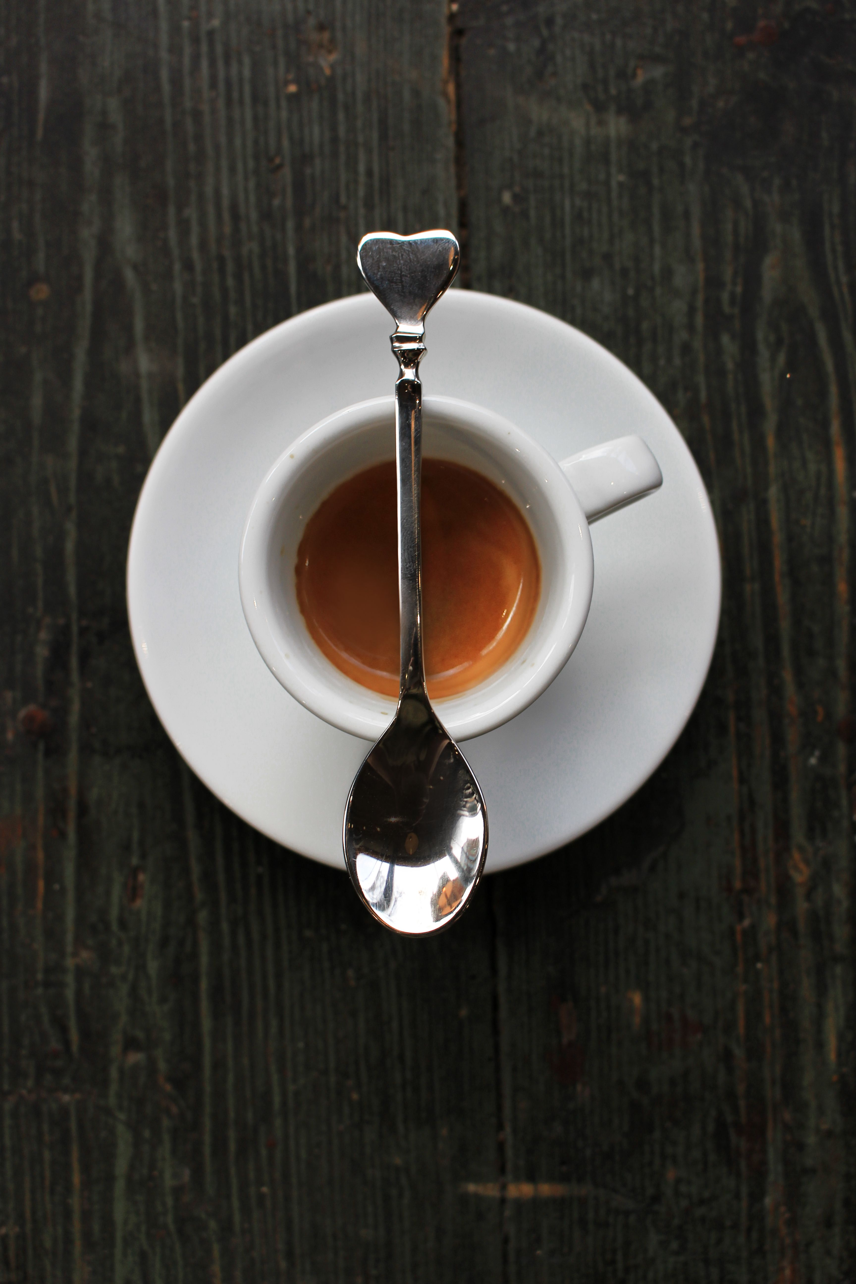 We love an espresso with a thick, hazelnut crema that persists even after you run a spoon through it - Caffe Nero.