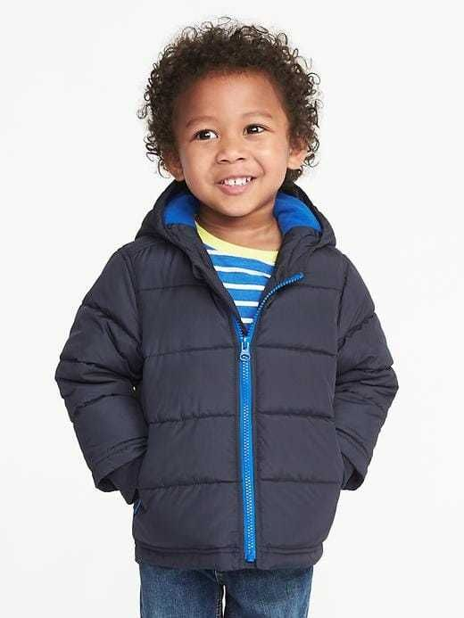 533184be851a Frost-Free Hooded Jacket for Toddler Boys