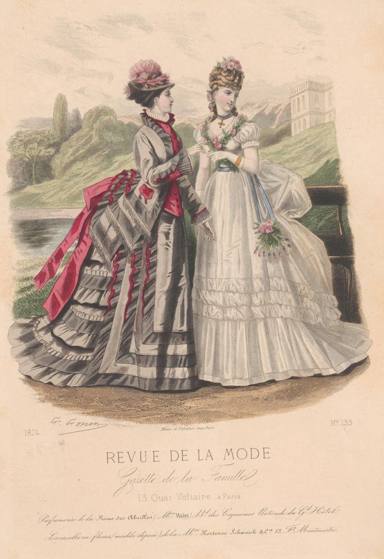 Revue de la mode 1874 exquisite history of fashion for Exquisit mode