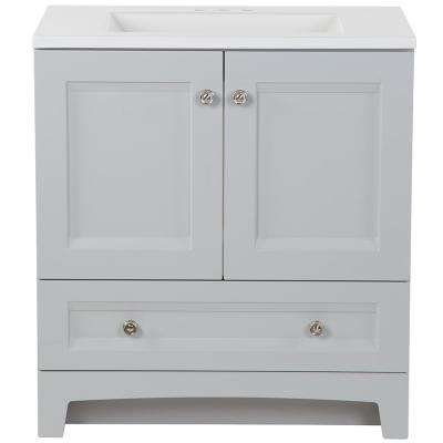 Bath Vanity In Pearl Gray