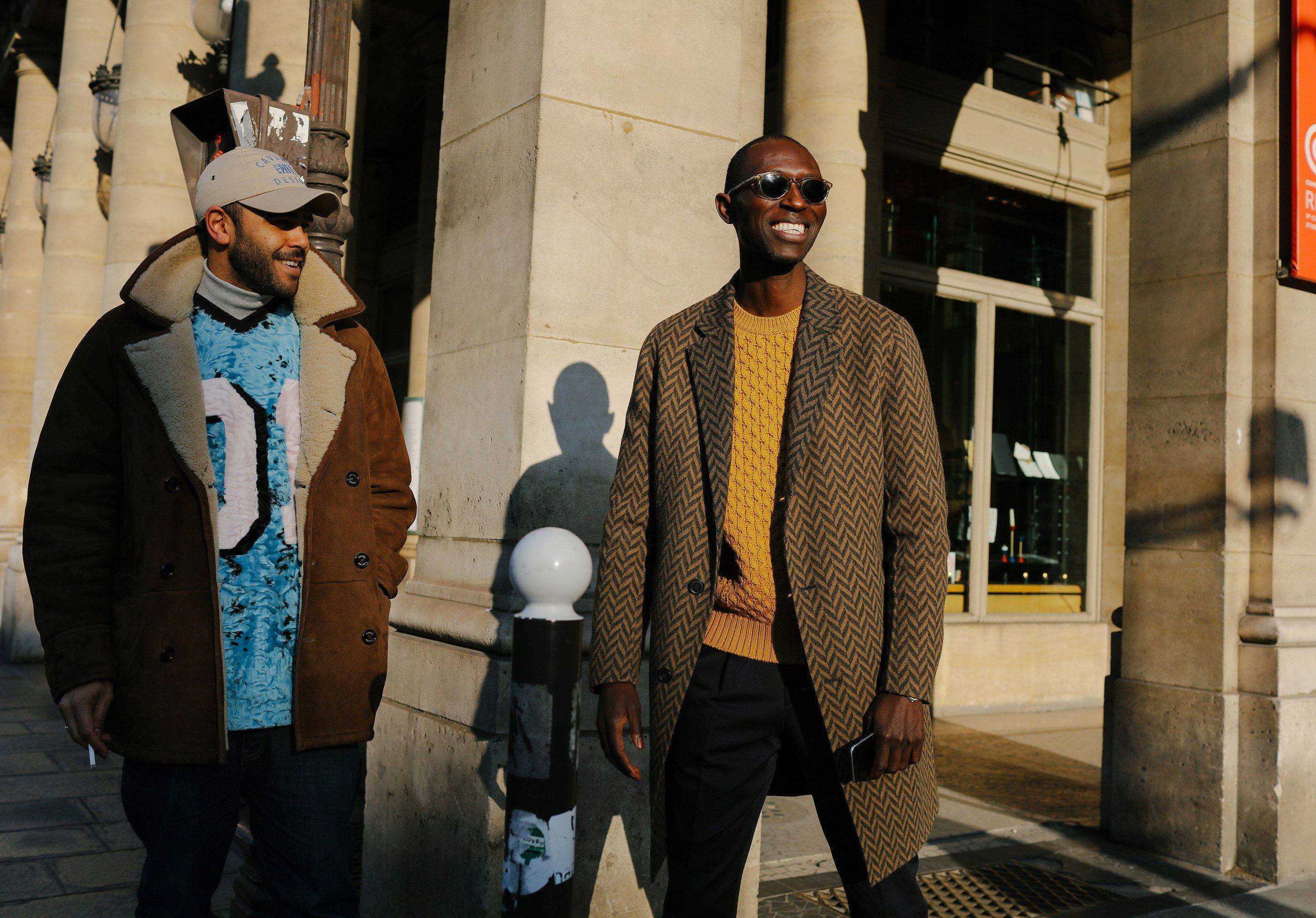 The Best Street Style Pics From The Paris Fall 2017 Men S Shows Cool Street Fashion Mens Street Style Mens Fashion Editorial