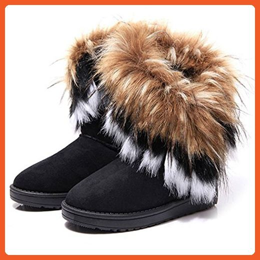 fc629f4b45 SAGUARO Womens Warm Slipper Boots Cosy Faux Fur Lining Non Slip Sole -  Outdoor shoes for women ( Amazon Partner-Link)
