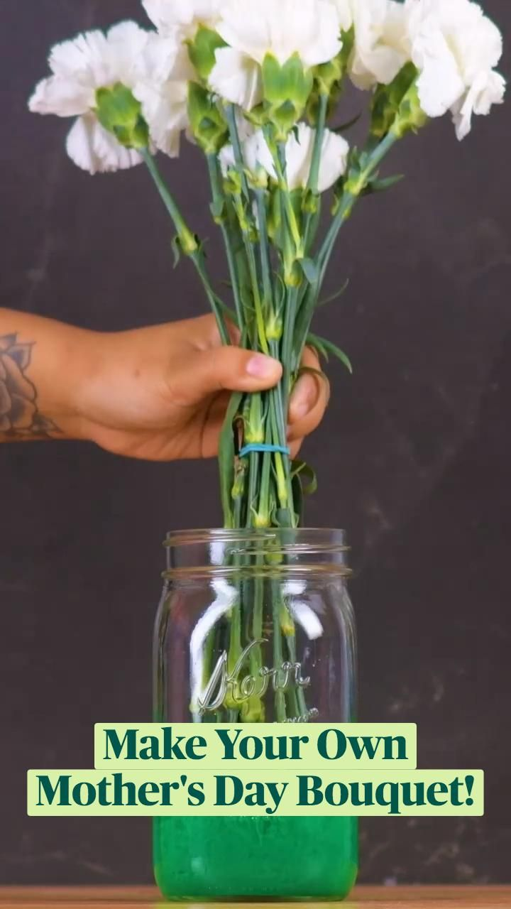 Make Your Own Mother's Day Bouquet!