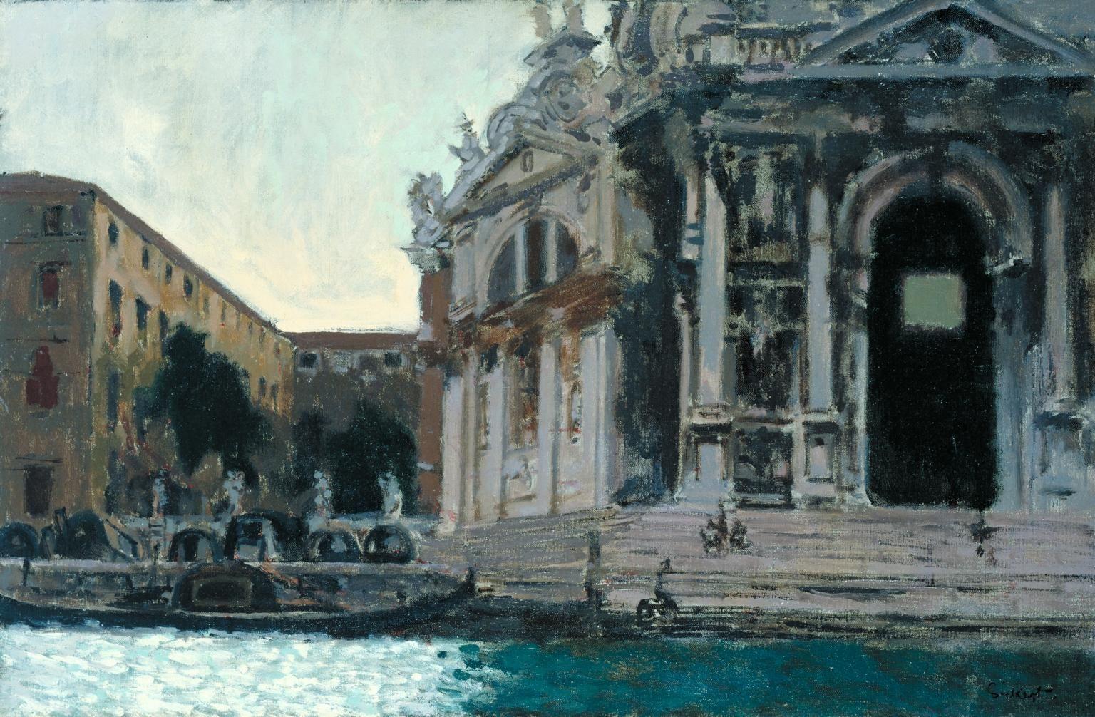 Walter Sickert - Venice, la Salute