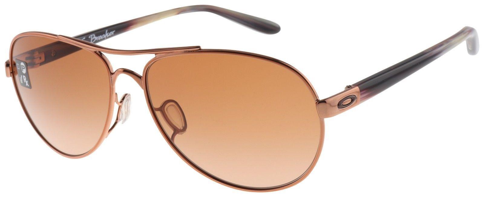 e1c275db31 Oakley Women s Tie Breaker Sunglasses OO4108-08 Rose Gold
