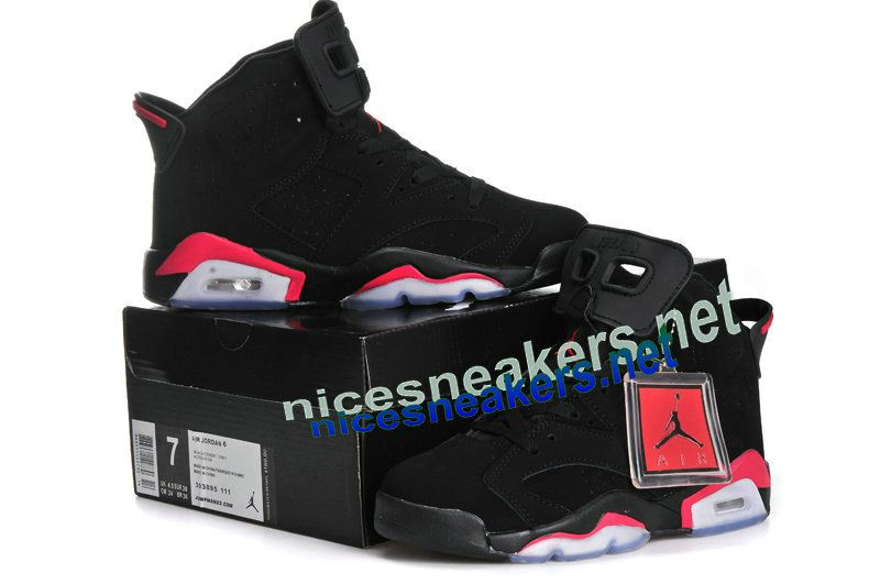 Air  Jordan 6 Retro Infrared Pack Black Red  Black  Womens  Sneakers ... 7dfdda56f8