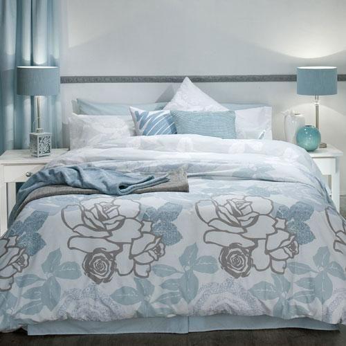 Printed Polycotton Floral Pattern Matching Pillowcase S Machine Washable Bedroom Duvet Cover Linen Duvet Covers Duvet Cover Sets